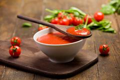Stock Photo of tomato sauce