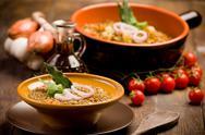Stock Photo of lentils soup