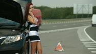 Road Help Stock Footage