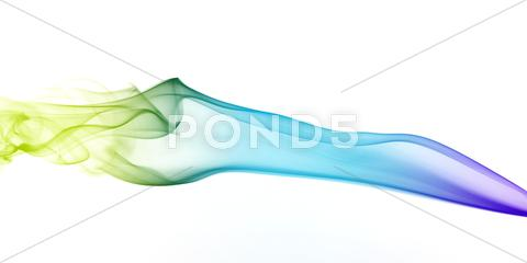 Stock photo of Colourful Abstract Smoke