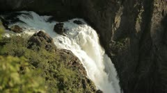 Voringsfoss waterfall 3 Stock Footage