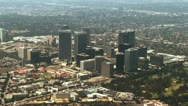 Aerial, West Los Angeles Stock Footage