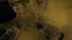 Turkey Underground City Stock Footage