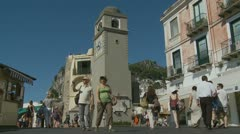 Shopping in Capri (5) Stock Footage