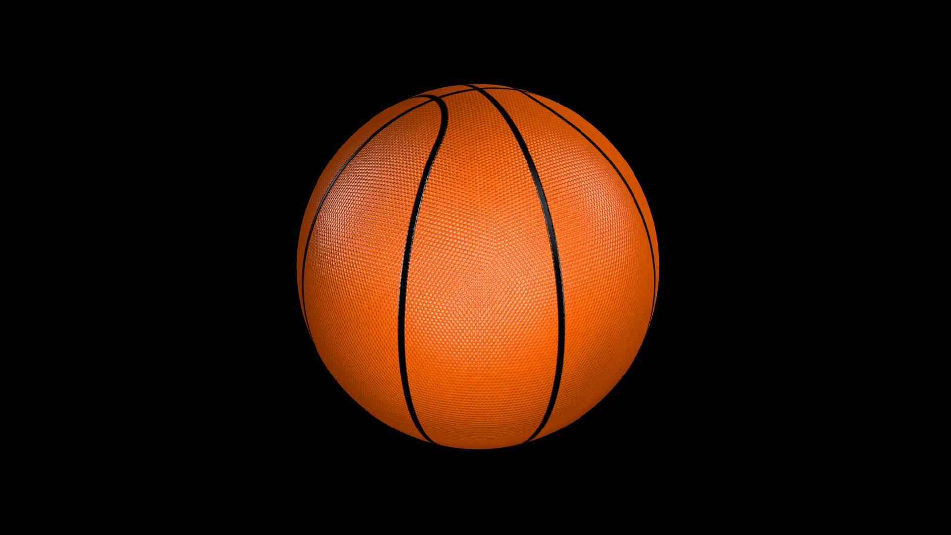 Basketball Spin On Black Background Stock Video 11897259 ...