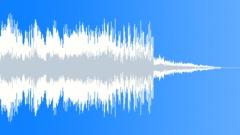 Swooshy scifi bonus ding - sound effect