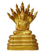 buddha statue - stock photo
