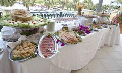Stock Photo of Wedding Buffet