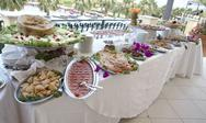 Stock Photo of Wedding Buffet