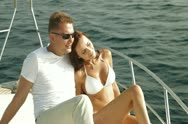 Stock Video Footage of Luxury Yacht Vacations