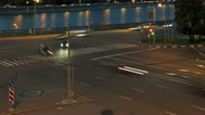 Stock Video Footage of night traffic