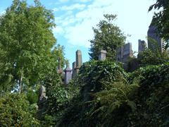 Glasgow cemetery Stock Photos