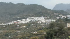Scenic village in Andalucia in Spain - stock footage