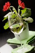Stock Photo of white wine