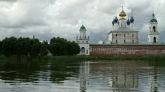 Russia. Rostov the Great. Spaso-Yakovlevsky monastery Stock Footage