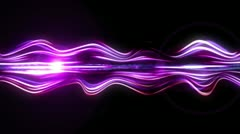 Light Streaks Background - Fractal Background 02 (HD) Stock Footage
