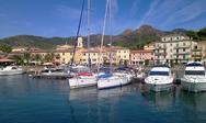 Stock Photo of boats in porto azzurro, elba island