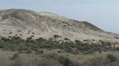 Dunes at Coast in Andalucia in Spain - stock footage