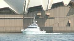 Sydney Opera and Harbor Bridge Stock Footage