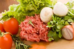 Stock Photo of minced meat