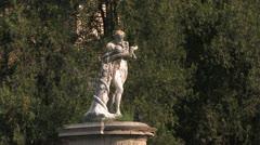 Italian Cities, Italian Castle Stock Footage