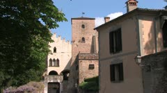 Monselice, Italy Stock Footage