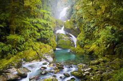 Amazing waterfall Stock Photos