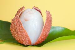 Lichee fruit Stock Photos