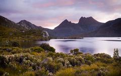 Cradle mountain, tasmania Stock Photos