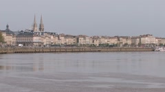 Bordeaux, France Stock Footage