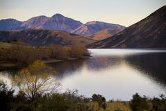Stock Photo of dusk lake