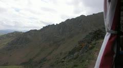 Rack Railway in the Pyrenees Stock Footage