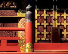 Stock Photo of japanese temple detail