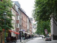 Stock Photo of duesseldorf altstadt