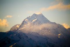 Mount cook, new zeland Stock Photos