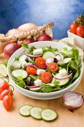 Stock Photo of greek salad
