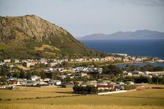 stanley, tasmania - stock photo