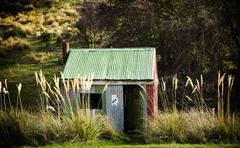Stock Photo of tin hut