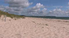 Baltic Sea Coast, Germany Stock Footage