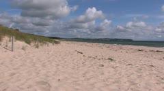 Baltic Sea Coast, Germany Stock Footage