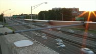 395 Beltway Timelapse | VA to DC Sunset  (2 versions) Stock Footage