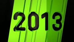 Year 2013 (HD) Stock Footage