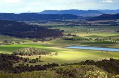 country scenic - stock photo