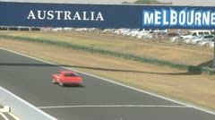 Racing Track Stock Footage