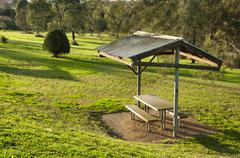 parkland shelter - stock photo
