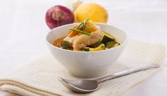 Stock Photo of fish soup