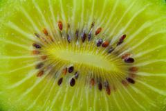 fresh kiwi background - stock photo