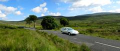 Motoring in Wicklow Stock Photos