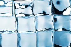 Stock Photo of ice cubes background