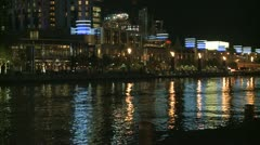 Melbourne Fireshow Stock Footage